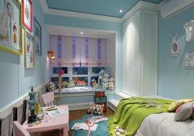 海蓝温馨儿童房欣赏