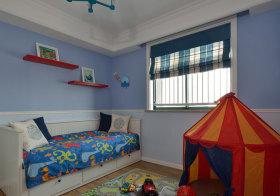 多彩现代儿童房设计