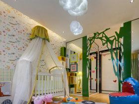 创意彩色儿童房欣赏