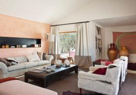暖色混搭客厅装修风格
