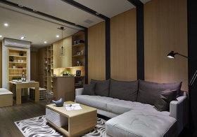 条纹现代客厅装修设计