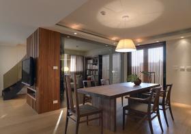 木艺简约餐厅装修设计