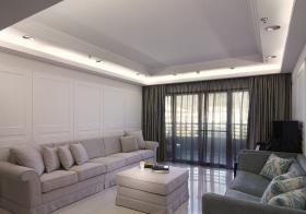 浅白简约客厅设计风格