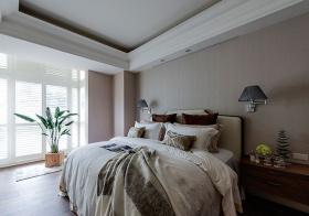 惬意现代卧室装修效果
