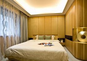 暖色简约卧室设计效果