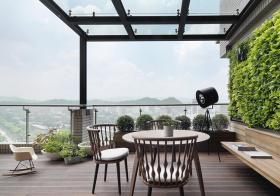 大气现代阳台设计效果