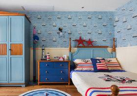海洋简欧儿童房欣赏