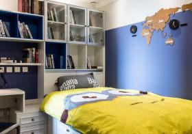 时尚大方现代儿童房设计