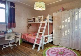 原木简约儿童房设计