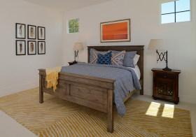 清新美式卧室设计美图