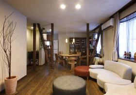 精致美式客厅装修实景