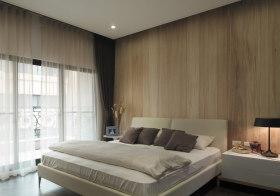 木质北欧卧室设计效果
