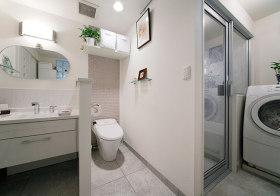 实用简约卫生间设计效果