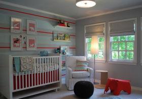 清新简约儿童房设计