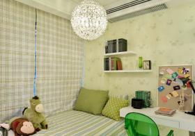 绿色简约儿童房欣赏