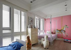 粉色欧式儿童房美图
