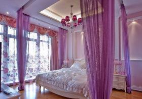 紫色欧式儿童房欣赏