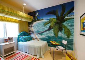 海洋现代儿童房设计