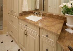 美式浴室柜美图设计