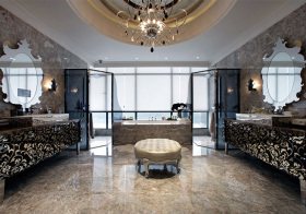 现代浴室柜设计欣赏