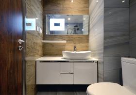 现代浴室柜设计美图