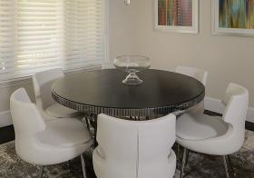 圆形现代餐厅装修设计