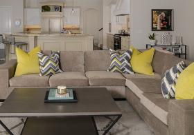灰色简约客厅设计欣赏