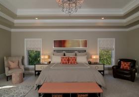 典雅简约卧室设计效果