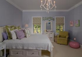 可爱简欧卧室装修设计