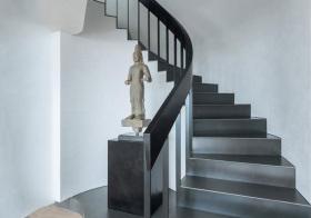 高冷现代风楼梯装修图片