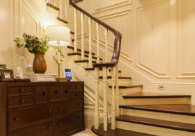 雅致欧式风楼梯装修图片