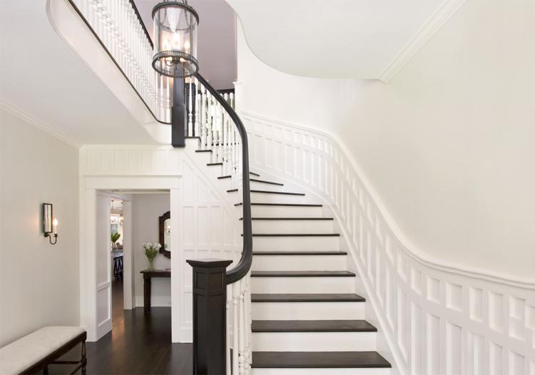 简约欧式风楼梯装修图片