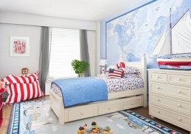 海洋主题现代儿童房欣赏