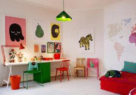 可爱现代儿童房欣赏