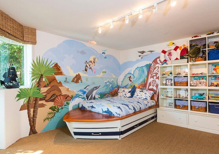 海洋主题儿童房欣赏
