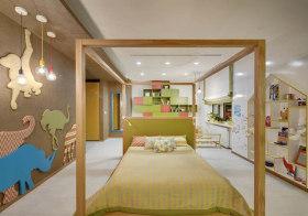 原木宜家儿童房设计