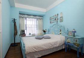 蓝色地中海儿童房设计
