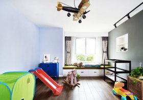 清新现代儿童房设计