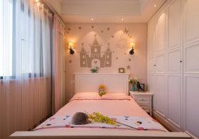 甜美欧式儿童房设计