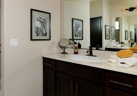 古典简约浴室柜