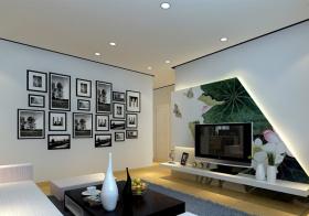 黑白简约照片墙设计