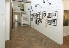 别墅简约照片墙设计