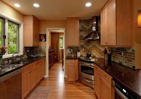 简洁美式厨房设计风格