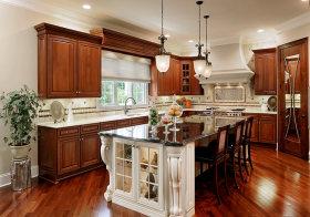 典雅美式厨房设计欣赏