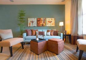 舒适宜家客厅效果美图