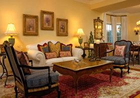 典雅欧式客厅装修效果