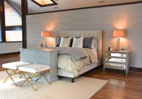 舒适简约卧室装修效果