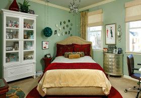 可爱简欧卧室设计欣赏