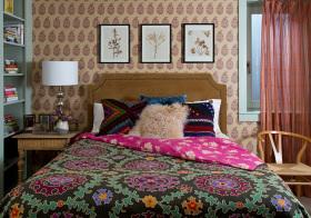 异域混搭卧室装修效果