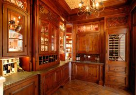 古典欧式酒柜美图